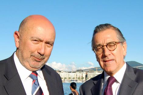 Con el presidente del Consejo Económico y Social de NN UU.